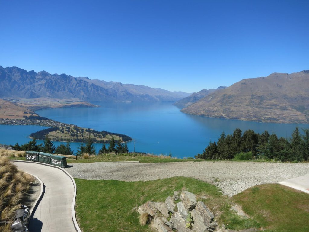 Ausblick vom Bob´s Peak in Queenstown .... alias Disneyland