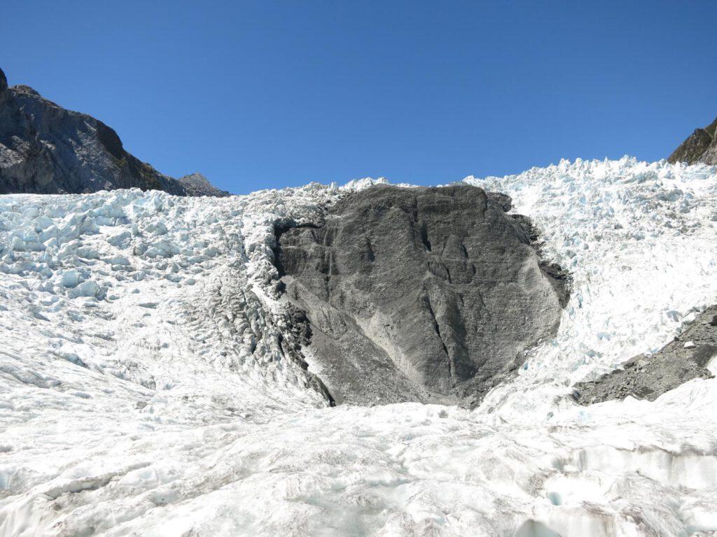 Wir stehen auf dem Franz Josef Gletscher!