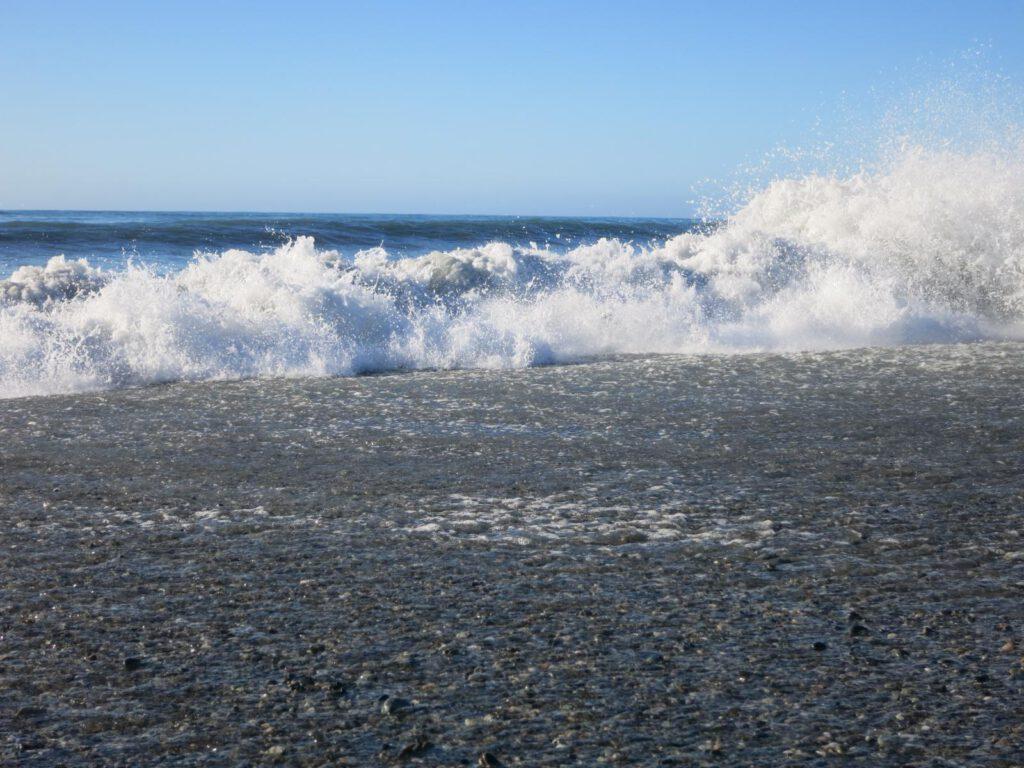 Am Strand von Hokitika
