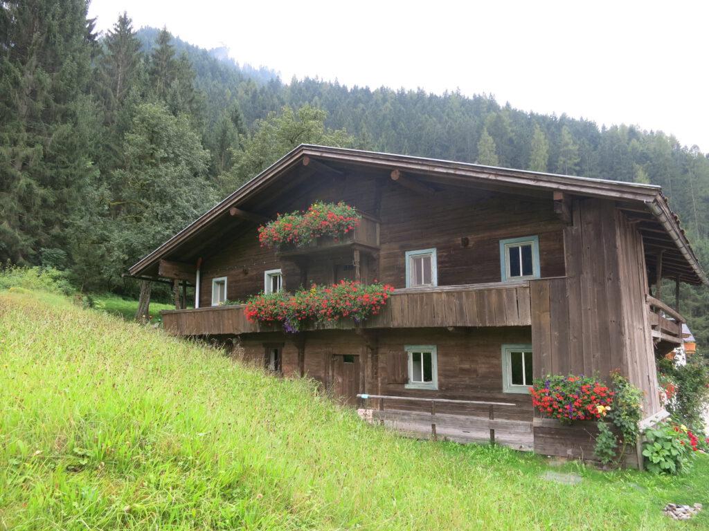 Auf dem Weg von Brandberg nach Mayrhofen