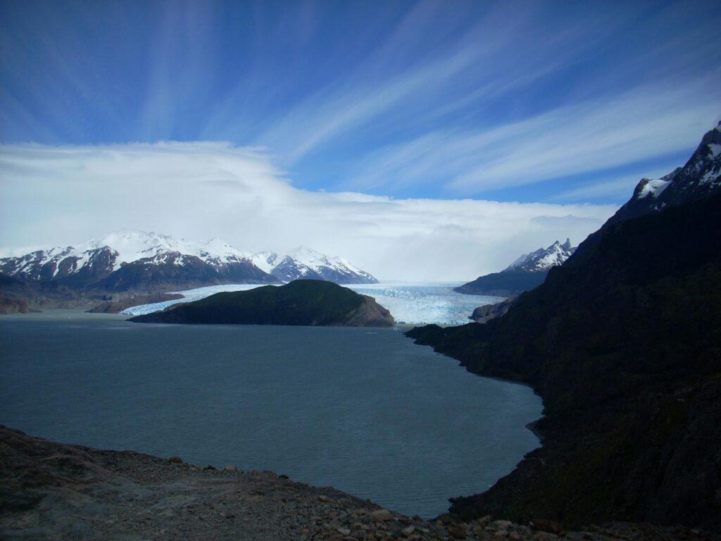 Gletscher im Paine Nationalpark