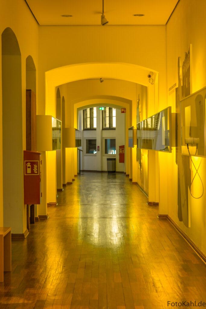 Flur im Altbau / Deutsches Technikmuseum Berlin