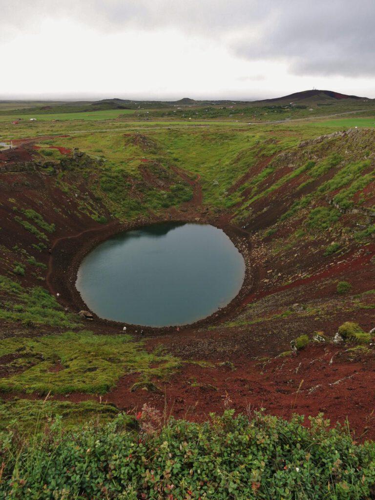 Vulkankrater Kerid