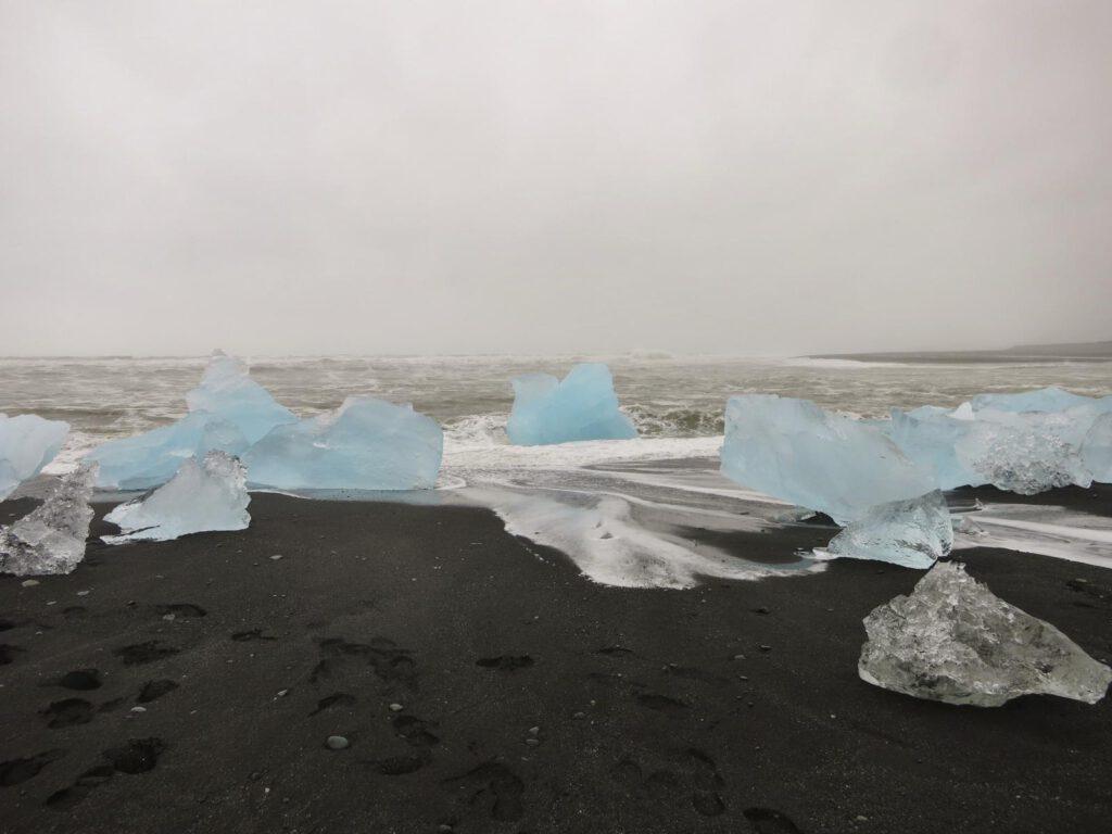 Riesige Eisbrocken am Meerensstrand!!!