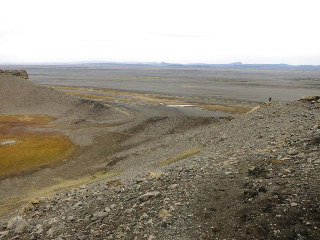 Einfach mal hoch - auf dem Vulkankrater