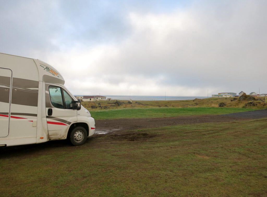 Campingplatz in Hellisandur