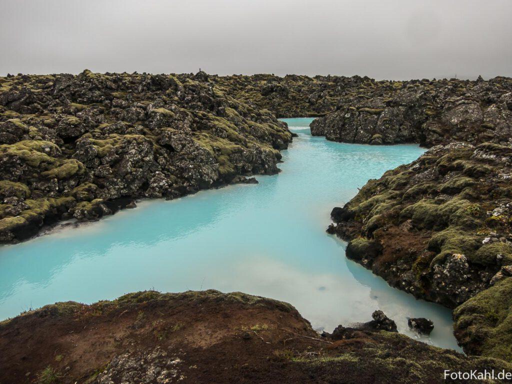 An der blauen Lagune bei Grindavik