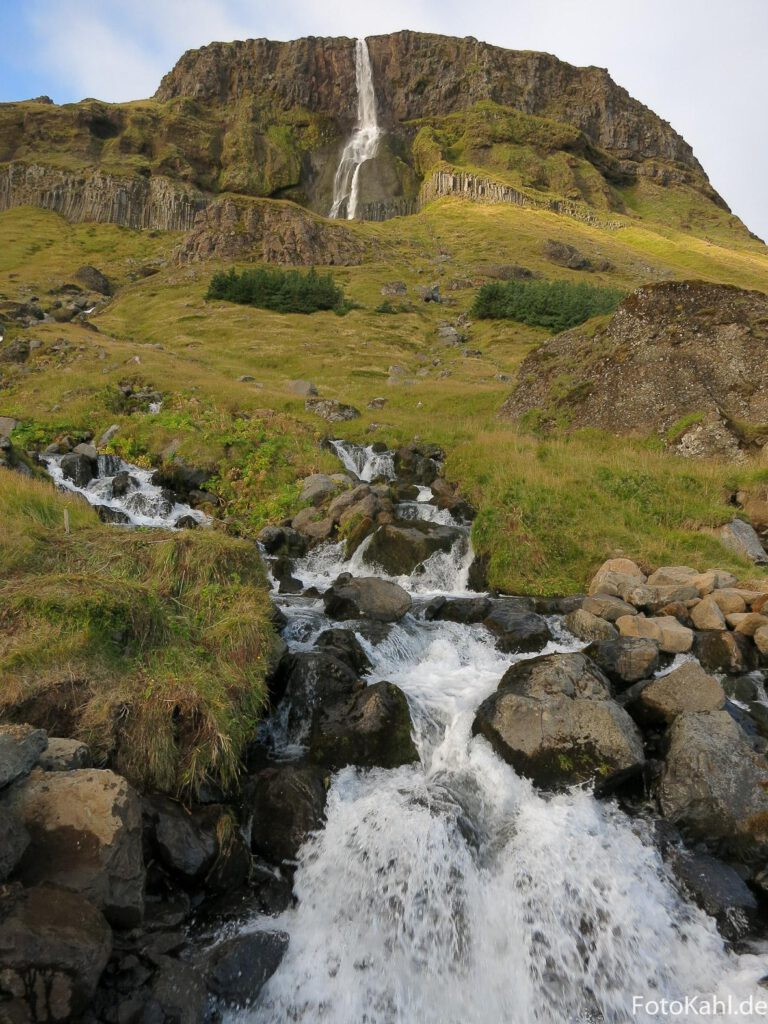 Wasserfall Bjarnafoss