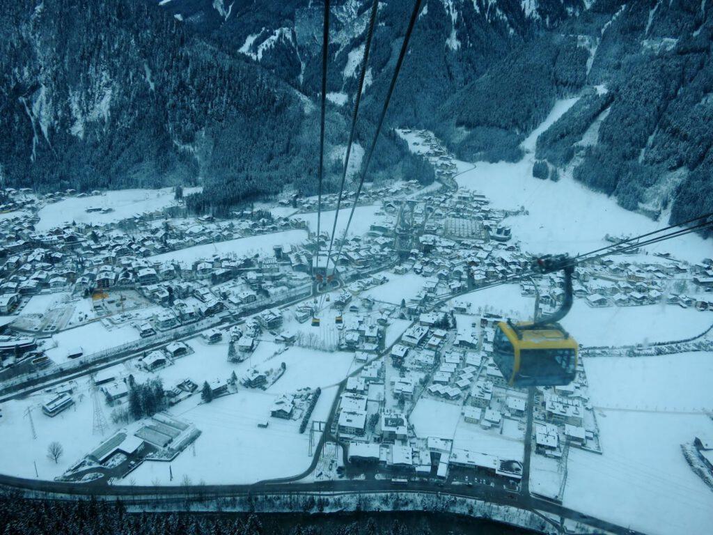 Die neue Penkebahn in Mayrhofen