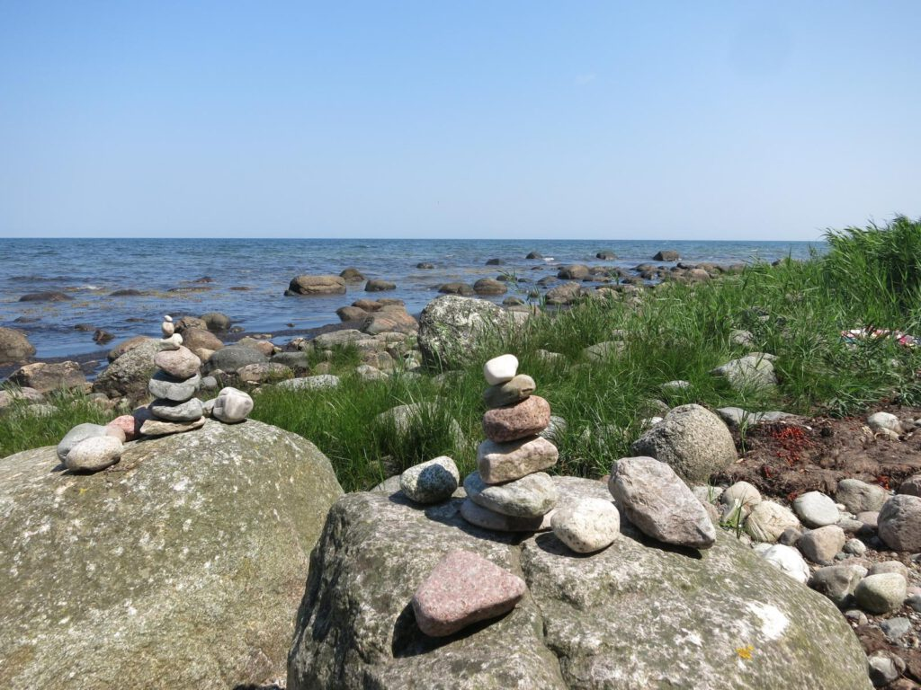 Strandimpression kurz vor Bind