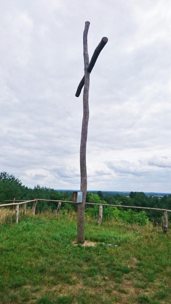 Gipfelkreuz Kesselberg 90 Meter!