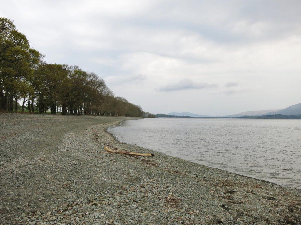 Am Ufer des legendären Loch Lomond