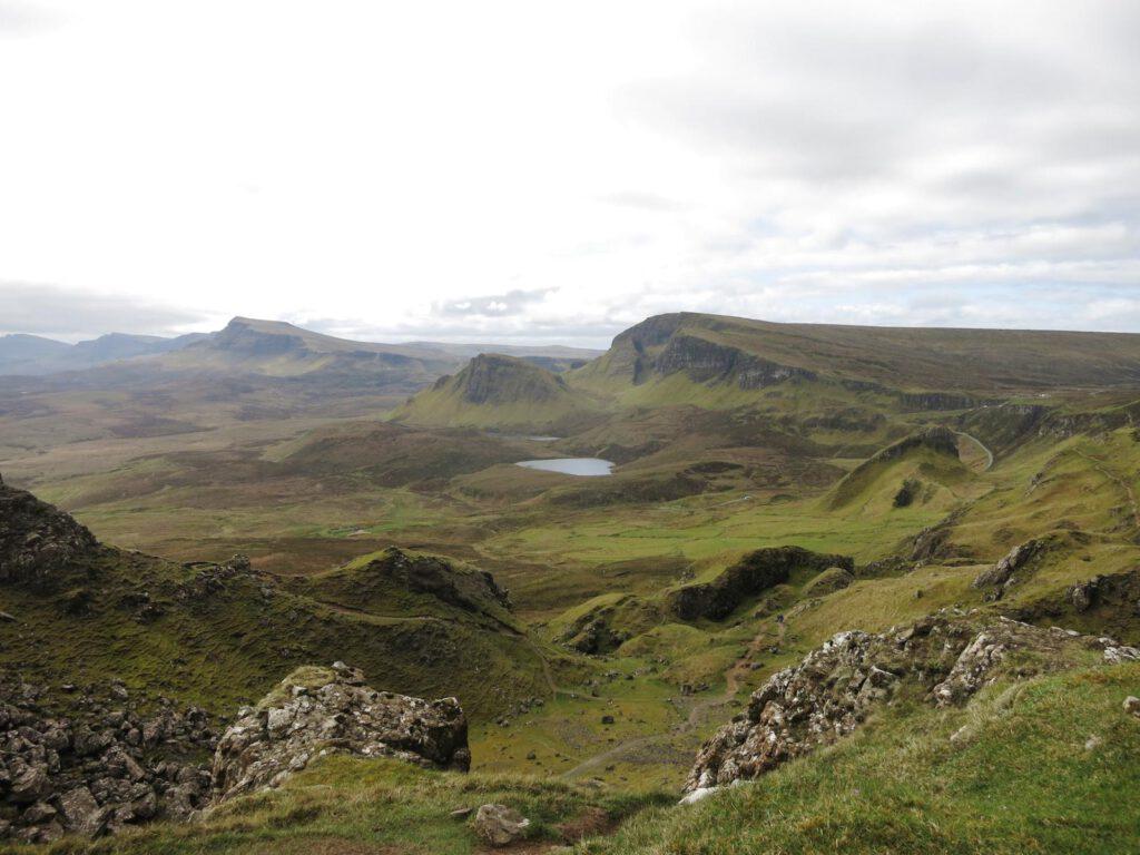 Unterhalb der Needle / Quiraing / Skye Schottland