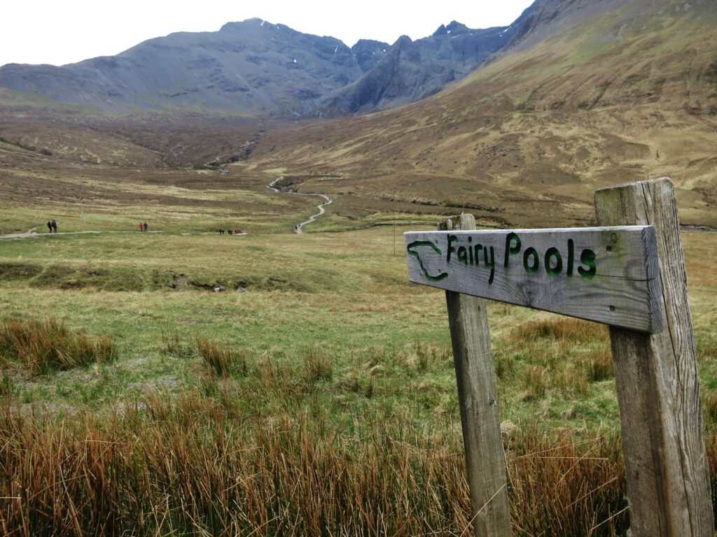 Fairy Pools Glenbrittle / Skye Schottland