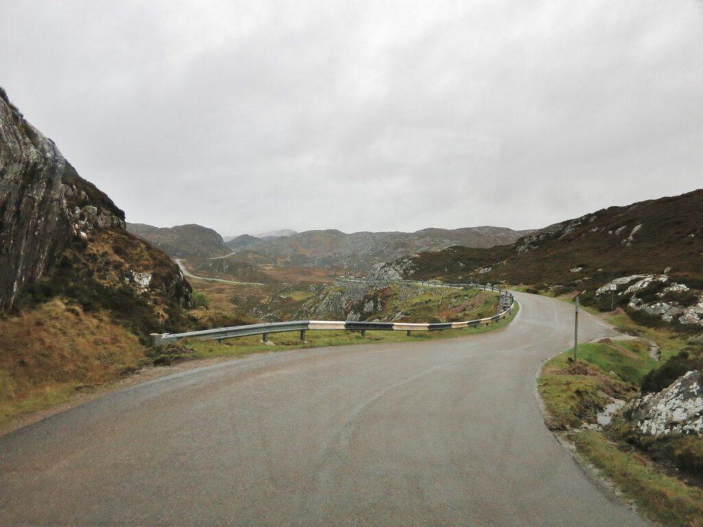 Straße nach Clachtoll