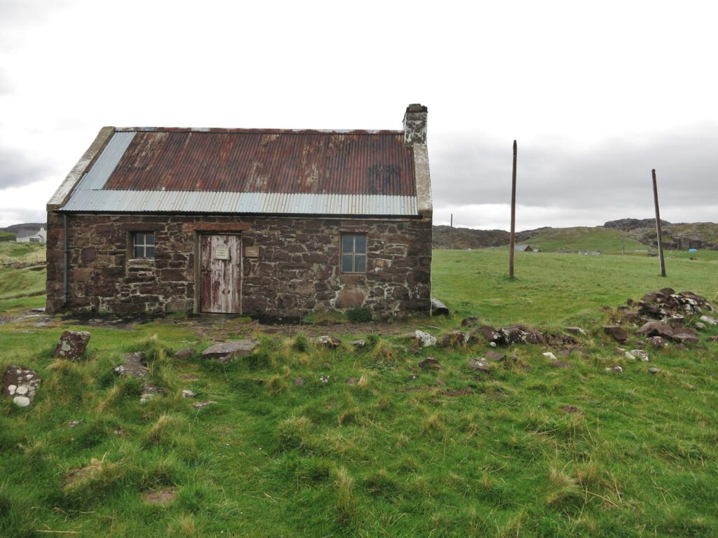 Schutzhütte Clachtoll