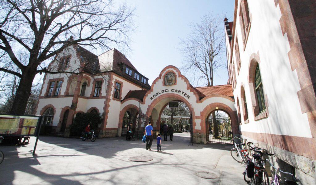Historischer Eingangsbereich (Foto © Zoo Leipzig)