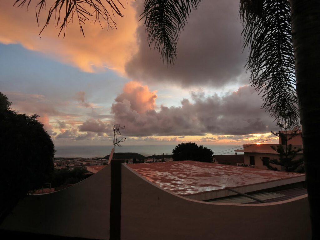 Sonnenuntergang über Los Llanos