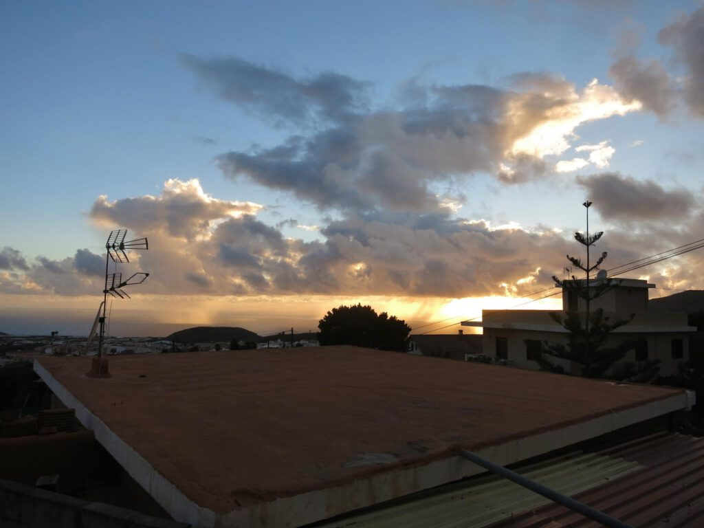 Sonnenuntergang Los Llanos
