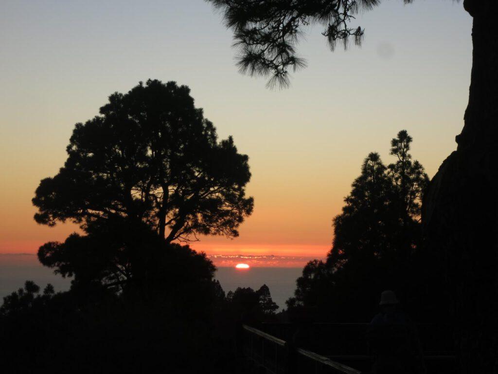 ....und zum Abschluß ein wunderschöner Sonnenuntergang.