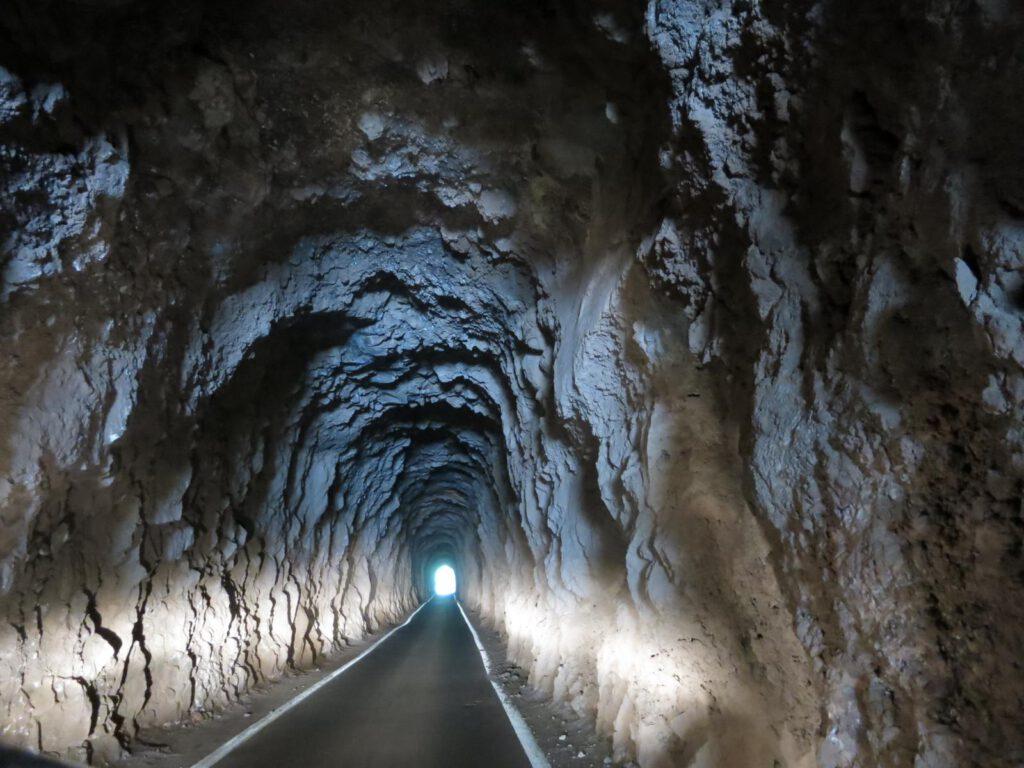 Tunneldurchfahrt