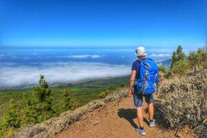 Blick ins Orotavatal / Teide Nationalpark