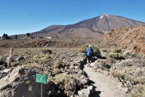 Richtung Seilbahn Teide
